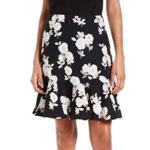 Kate Spade Posy Floral Flounce Skirt Sz 14 NWT